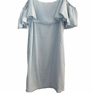 Romeo + Juliet Off Shoulder Tencel Dress M